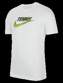 Футболка Nike Court Tennis Graphic M (Белый)