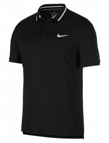 Поло Nike Court Dri-FIT M (Черный)