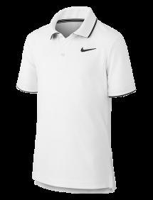 Поло Nike Court Dri-FIT B (Белый)