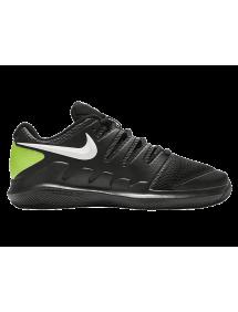 Кроссовки детские Nike Court Jr. Vapor X (Черный)