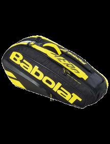 Сумка Babolat Pure Aero x6 (Желтый/Черный 191) 2021