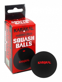 Мячи для сквоша Karakal Red Dot Squash Ball 2 (2x1)