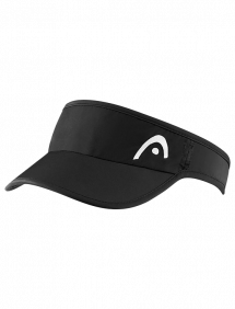 Кепка Head Pro Player Womens Visor (Черный)