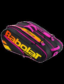 Сумка Babolat Pure Aero Rafa x12 (Черный/Оранжевый 363) 2021