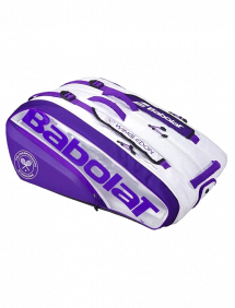 Сумка Babolat Pure x12 Wimbledon (Белый/Фиолетовый 147)