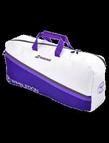 Сумка Babolat Duffle M Wimbledon (Белый/Фиолетовый 167)