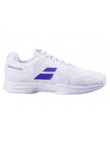 Кроссовки мужские Babolat SFX All Court Wimbledon (Белый/Фиолетовый 1046)