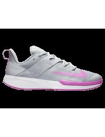 Кроссовки женские Nike Vapor Lite Cly (Серый/Фиолетовый)