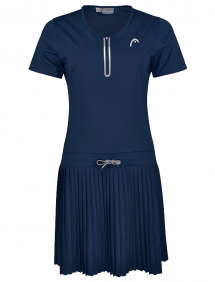 Платье Head Performance Dress  W (Синий)