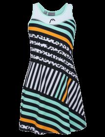 Платье Head Diana Dress W (Белый/Бирюзовый)