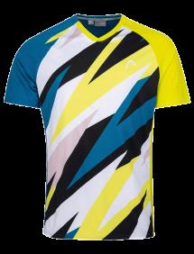 Футболка Head Striker T-Shirt B (Синий/Желтый)