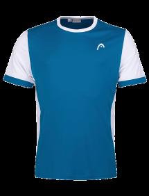Футболка Head Davies B (Синий/Белый)