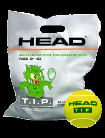 Теннисные мячи Head TIP Green 72pcs Bag