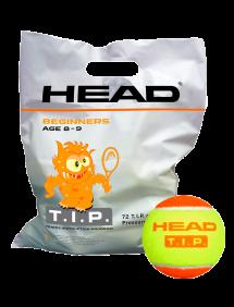 Теннисные мячи Head TIP Orange 72pcs Bag
