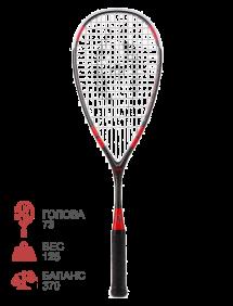 Ракетка для сквоша Harrow Reflex Tarek Momen Signature (Red/Black)