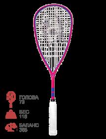 Ракетка для сквоша Harrow Meta (Pink/Purple)