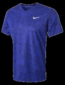 Футболка Nike Dry Victory Top Print M (Синий)