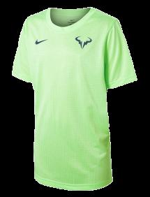 Футболка Nike Court Dri-FIT Tee B (Зеленый)