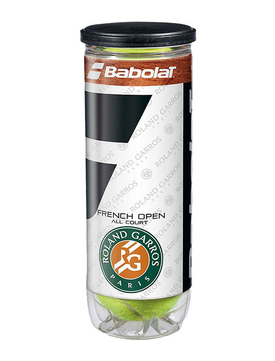 Теннисные мячи Babolat French Open All Court x3