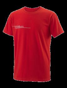 Футболка Wilson Team II 7 Tech Tee B G (Red)