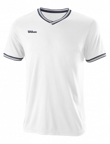 Футболка Wilson Team II High V-Neck M (White)