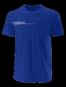 Футболка Wilson Team II Tech Tee M (Royal)