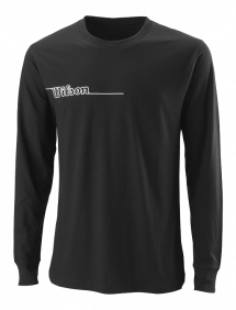 Футболка Wilson Team II LsTech Tee M (Black)