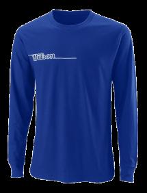 Футболка Wilson Team II LsTech Tee M (Royal)