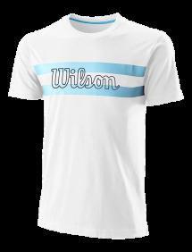 Футболка Wilson Chi Script CTN Tee M (Белый)