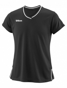 Футболка Wilson Team II V-Neck W (Black)
