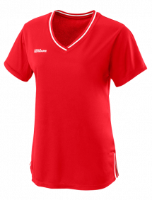 Футболка Wilson Team II V-Neck W (Red)