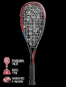 Ракетка для сквоша Head Radical Ti. Junior (Черный/Красный)