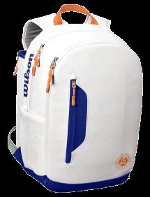 Рюкзак Wilson Roland Garros Premium Backpack (Белый/Синий)
