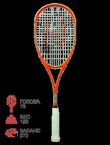 Ракетка для сквоша Harrow Torquet (Orange/Black)