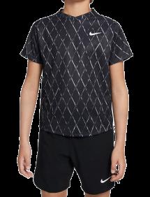 Футболка Nike Court Dri-FIT Victory B (Черный)