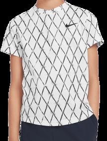 Футболка Nike Court Dri-FIT Victory B (Белый)