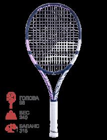 Ракетка для тенниса Babolat Pure Drive Junior 25 Girl 2021