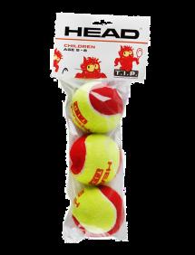Теннисные мячи Head TIP Red x3