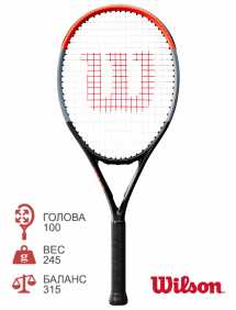 Ракетка для тенниса Wilson Clash 26