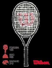 Ракетка для тенниса Wilson Pro Staff 25 V13.0