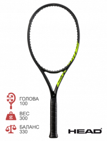 Ракетка для тенниса Head Graphene 360+ Extreme MP Nite 2021