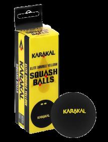 Мячи для сквоша Karakal 2x-Yellow Dot Squash Ball 2(3x1)
