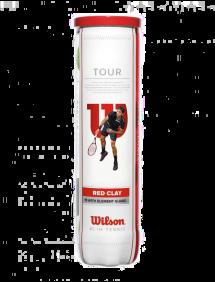 Теннисные мячи Wilson Tour Clay Red x4