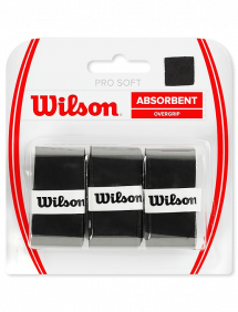 Овергрип Wilson Pro Soft Absorbent (Черный)