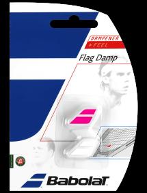 Виброгаситель Babolat Flag Damp (Белый/Розовый)