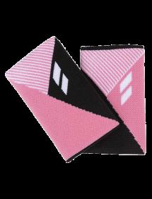 Напульсник Babolat Reversible Jumbo двусторонний (Черный/Розовый)