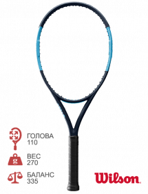 Тестовая ракетка для тенниса Wilson Ultra 110