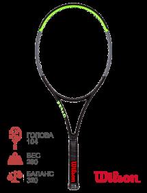 Тестовая ракетка для тенниса Wilson Blade 104 V7.0