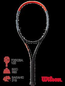 Тестовая ракетка для тенниса Wilson Clash 100L