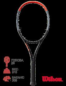Тестовая ракетка для тенниса Wilson Clash 98
